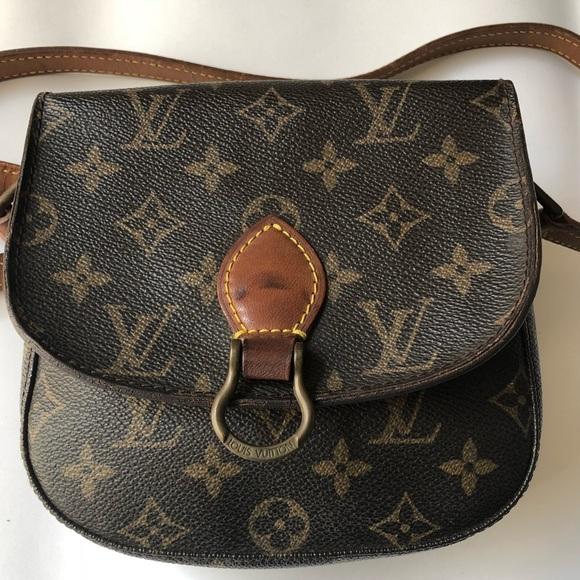 5fcf516f88d3 Louis Vuitton Handbags - Authentic LV Mini Saint Cloud Crossbody